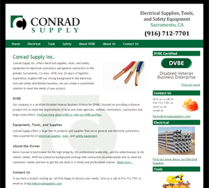 Conrad Supply Inc by Accelerator Websites