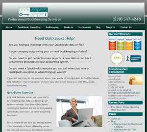 The Bookkeeper's Keeper, Accounting Website