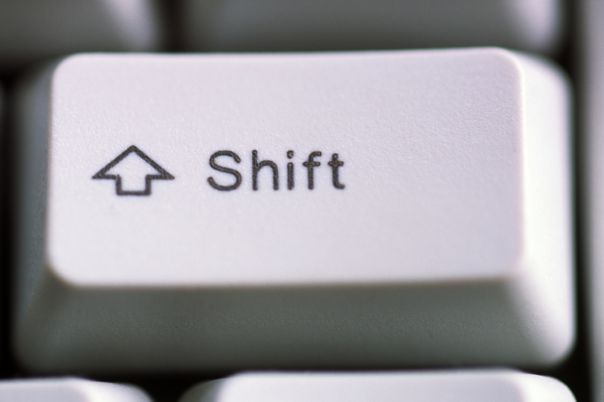 Shift button | Accountants Accelerator