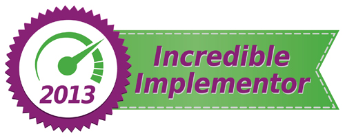 Incredible Implementor 2013