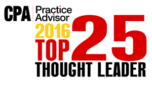 CPA Practice Advisor Top 25 Thought Leaders for 2015