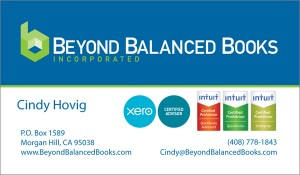 Accounting Business Card Portfolio