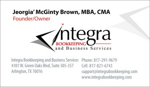 Integra Business Card