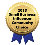 2013 Small Business Influencer Community Choice
