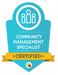 Community Management Specialist Certified