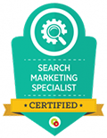 Search Marketing specialist  certified