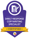 Direct-Response Copy writing Specialist certified
