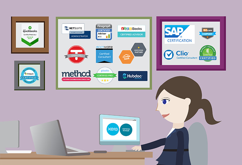 50+ Software Certifications You Can Get as an Accounting